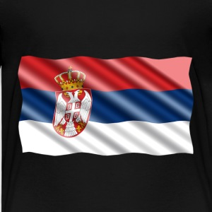 Serbia Flag Baby & Toddler Shirts - Toddler Premium T-Shirt