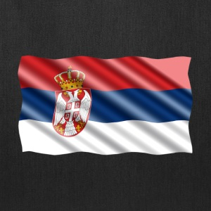 Serbia Flag Bags & backpacks - Tote Bag