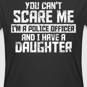 You can't scare me funny Police Office t-shirt quo - Men's 50/50 T-Shirt