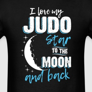Judo Mom To the Moon an Back T-Shirts - Men's T-Shirt