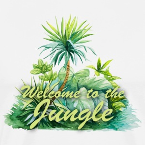 welcome to jungle T-Shirts - Men's Premium T-Shirt