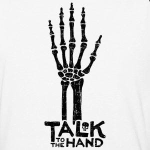 Talk to the Hand Baseball Longsleeve - Baseball T-Shirt