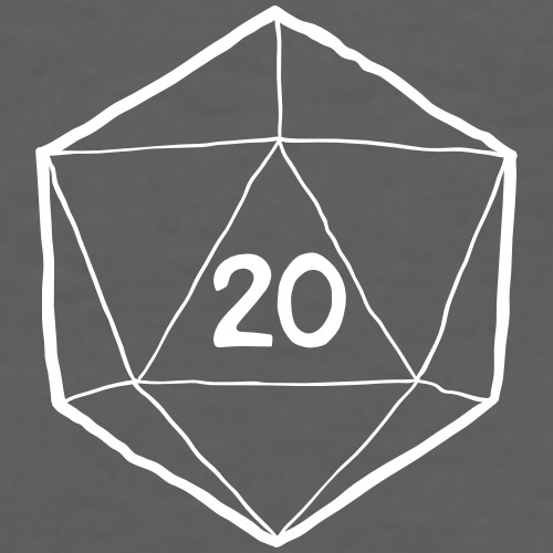 Fantasy Dice d20 Critical Hit
