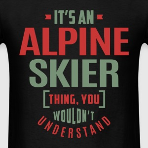 Alpine Skier - Men's T-Shirt