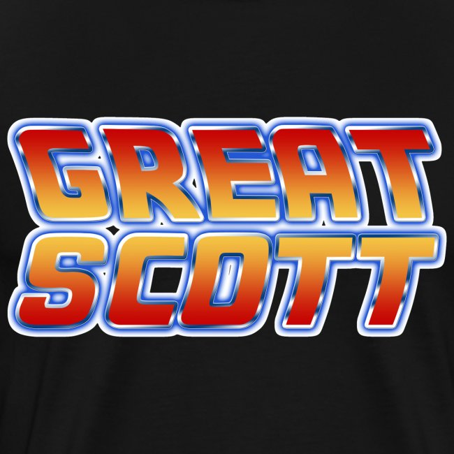 Back to the Future Great Scott Shirt