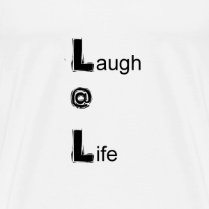 Laugh @ Life   - Men's Premium T-Shirt