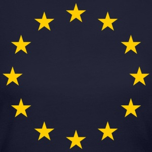 European Union Symbol Long Sleeve Shirts - Women's Long Sleeve Jersey T-Shirt