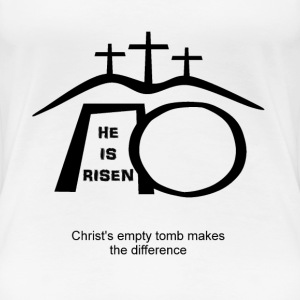 His empty tomb makes the difference  - Women's Premium T-Shirt