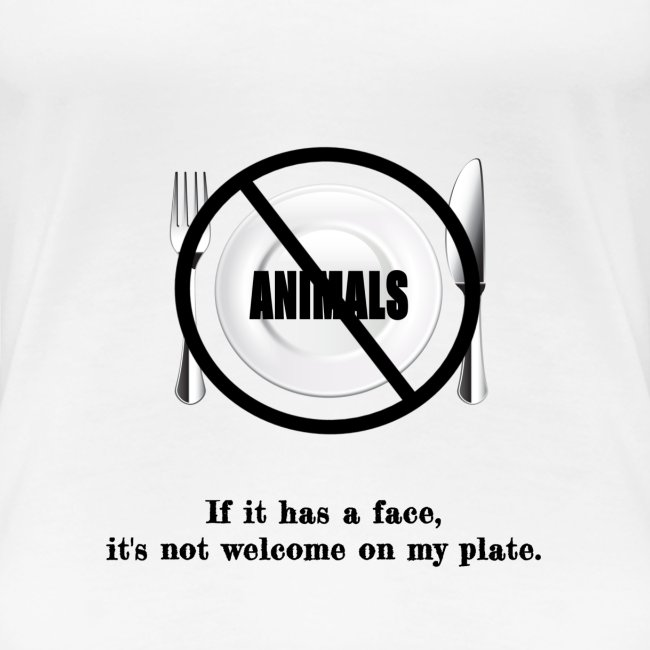 No faces on my plate