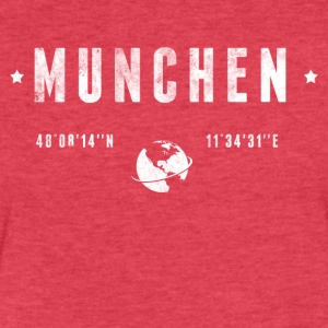 Munchen T-Shirts - Fitted Cotton/Poly T-Shirt by Next Level