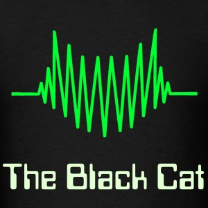 Black Cat producer logo T-Shirts - Men's T-Shirt