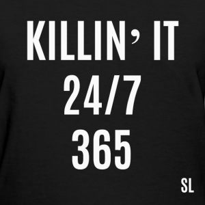 Black Girls Killin' It T-Shirts - Women's T-Shirt