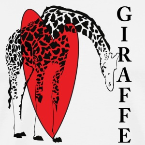 Love A Giraffe - Men's Premium T-Shirt