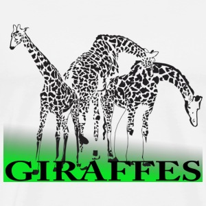 Giraffes - Men's Premium T-Shirt