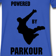 Design ~ POWERED BY PARKOUR V-NECK