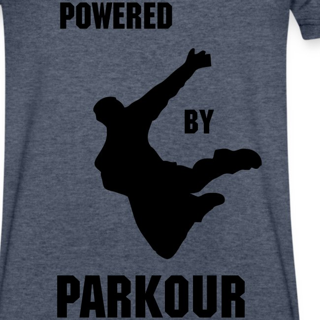 POWERED BY PARKOUR V-NECK