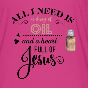 All I need is Essential Oils and Jesus Tshirt - Women's Flowy T-Shirt
