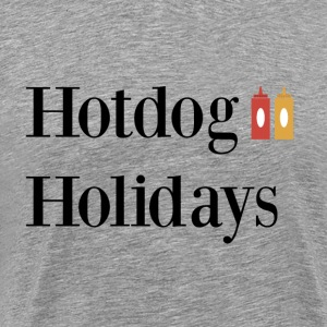 Hotdog Holidays - Men's Premium T-Shirt