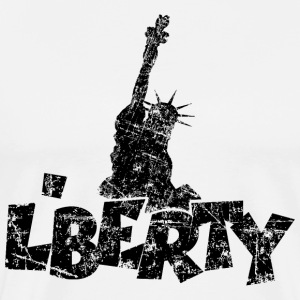 Liberty Vintage Black T-Shirts - Men's Premium T-Shirt
