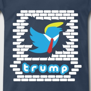 Trump's Twitter - Men's Premium T-Shirt