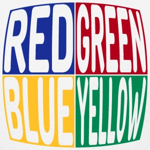 red green blue yellow T-Shirts - Women's T-Shirt