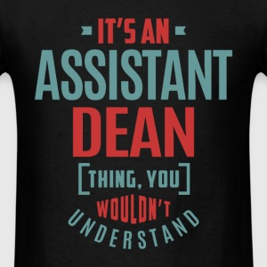 Assistant Dean - Men's T-Shirt