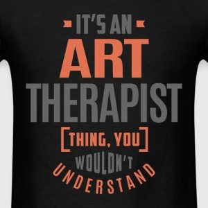 Art Therapist - Men's T-Shirt