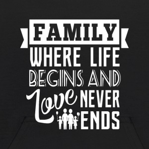Family where life begins Sweatshirts - Kids' Hoodie