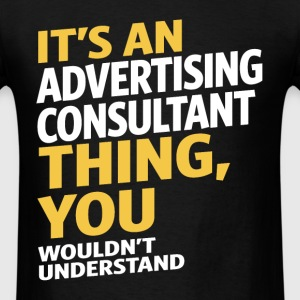 Advertising Consultant - Men's T-Shirt