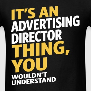 Advertising Director - Men's T-Shirt