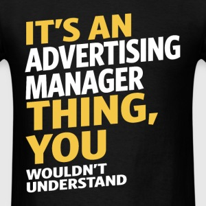 Advertising Manager - Men's T-Shirt