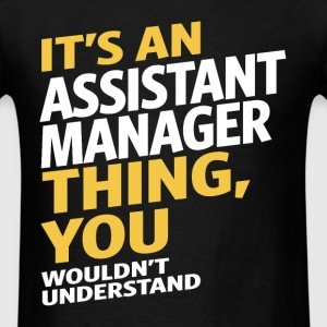 Assistant Manager - Men's T-Shirt