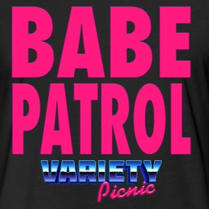 Babe Patrol T-Shirt - Fitted Cotton/Poly T-Shirt by Next Level