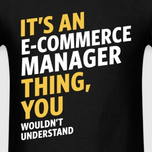 E-commerce Manager - Men's T-Shirt
