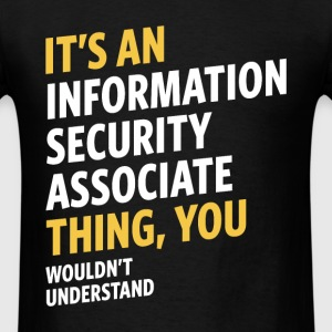 Information Security Associate - Men's T-Shirt