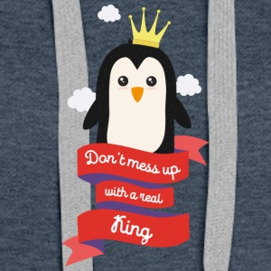 Dont mess up with a King Skkw2 Hoodies - Women's Premium Hoodie