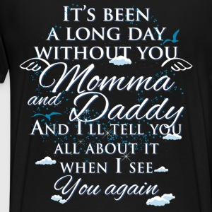 Momma and Daddy - Men's Premium T-Shirt