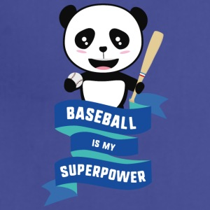 Baseball is my Superpower Skkwh Aprons - Adjustable Apron