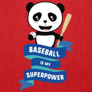 Baseball is my Superpower Skkwh Bags & backpacks - Tote Bag