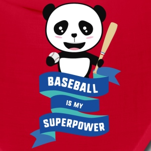 Baseball is my Superpower Skkwh Caps - Bandana