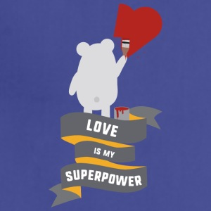 Love is my Superpower S3734 Aprons - Adjustable Apron