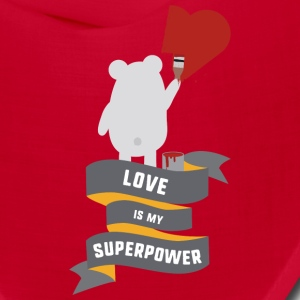 Love is my Superpower S3734 Caps - Bandana