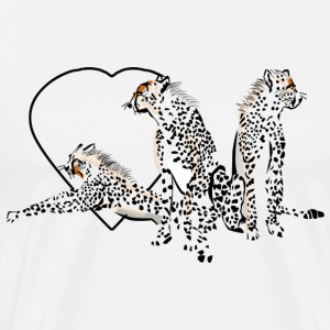 Love Cheetahs - Men's Premium T-Shirt