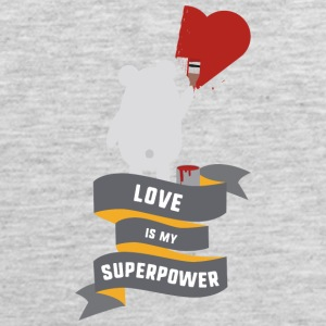 Love is my Superpower S3734 Sportswear - Men's Premium Tank