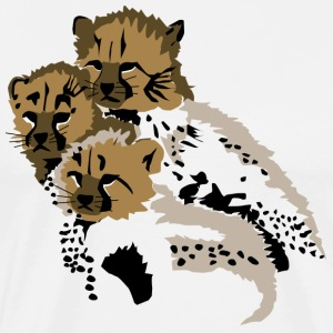 Cheetah Cubs - Men's Premium T-Shirt