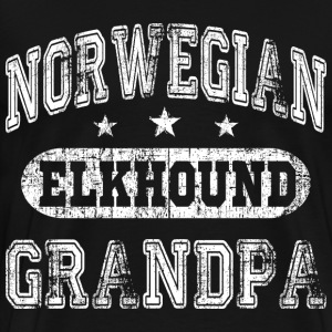 Norwegian Elkhound T-Shirts - Men's Premium T-Shirt