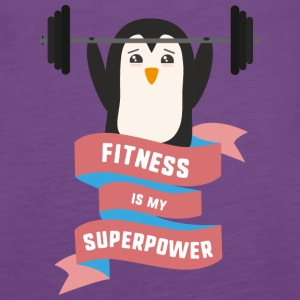 Fitness is my Superpower Sodhg Tanks - Women's Premium Tank Top