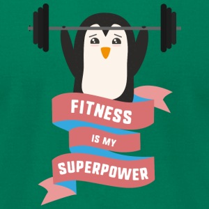 Fitness is my Superpower Sodhg T-Shirts - Men's T-Shirt by American Apparel