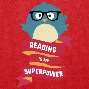 Reading is my Superpower S2g6d Bags & backpacks - Tote Bag