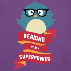 Reading is my Superpower S2g6d Tanks - Women's Premium Tank Top